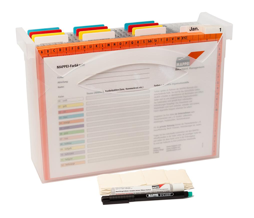 Arbeitsplatz-Organisation, Terminmodul (Box aus Polypr.)