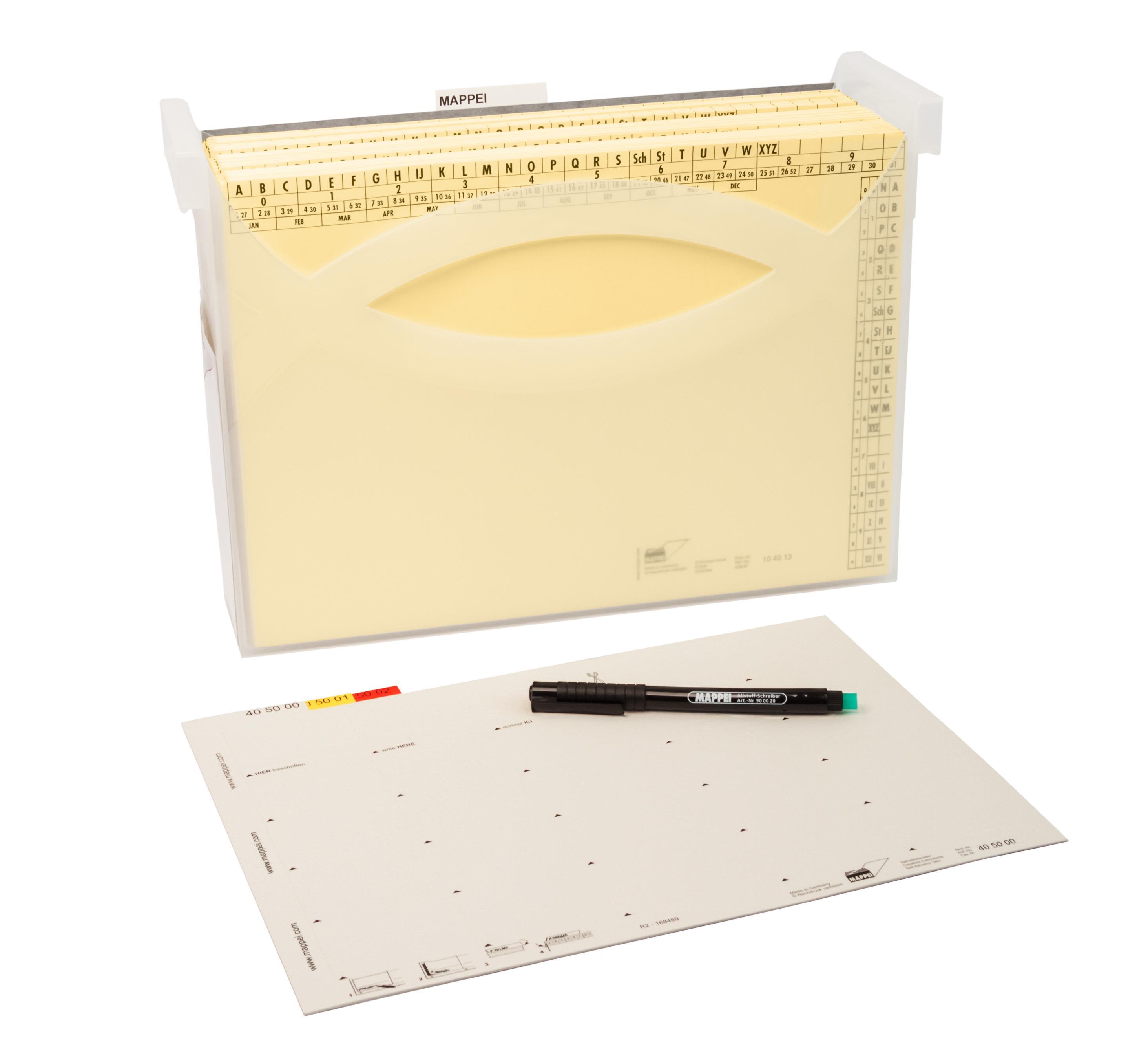 Ablage-Set S (Small), Organisationspaket für Einsteiger