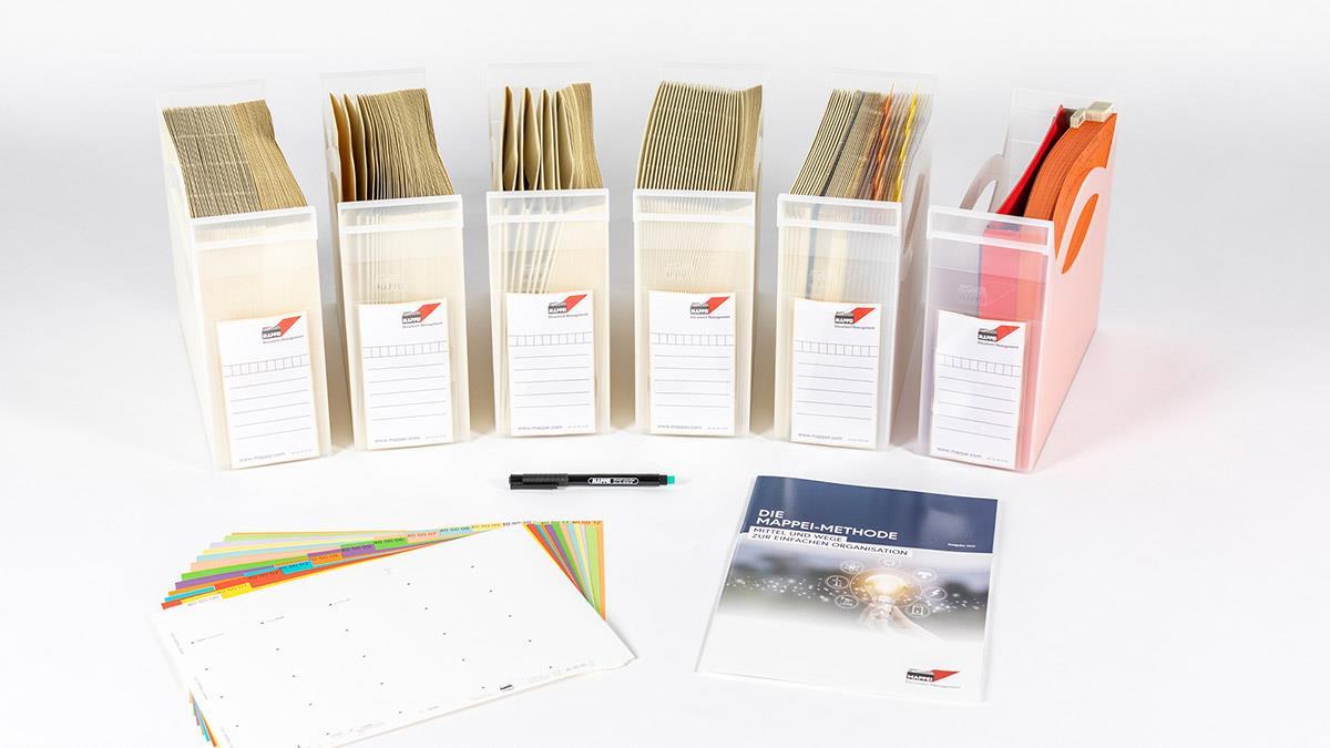 Ablage-Set L (Large), Organisationspaket für Einsteiger