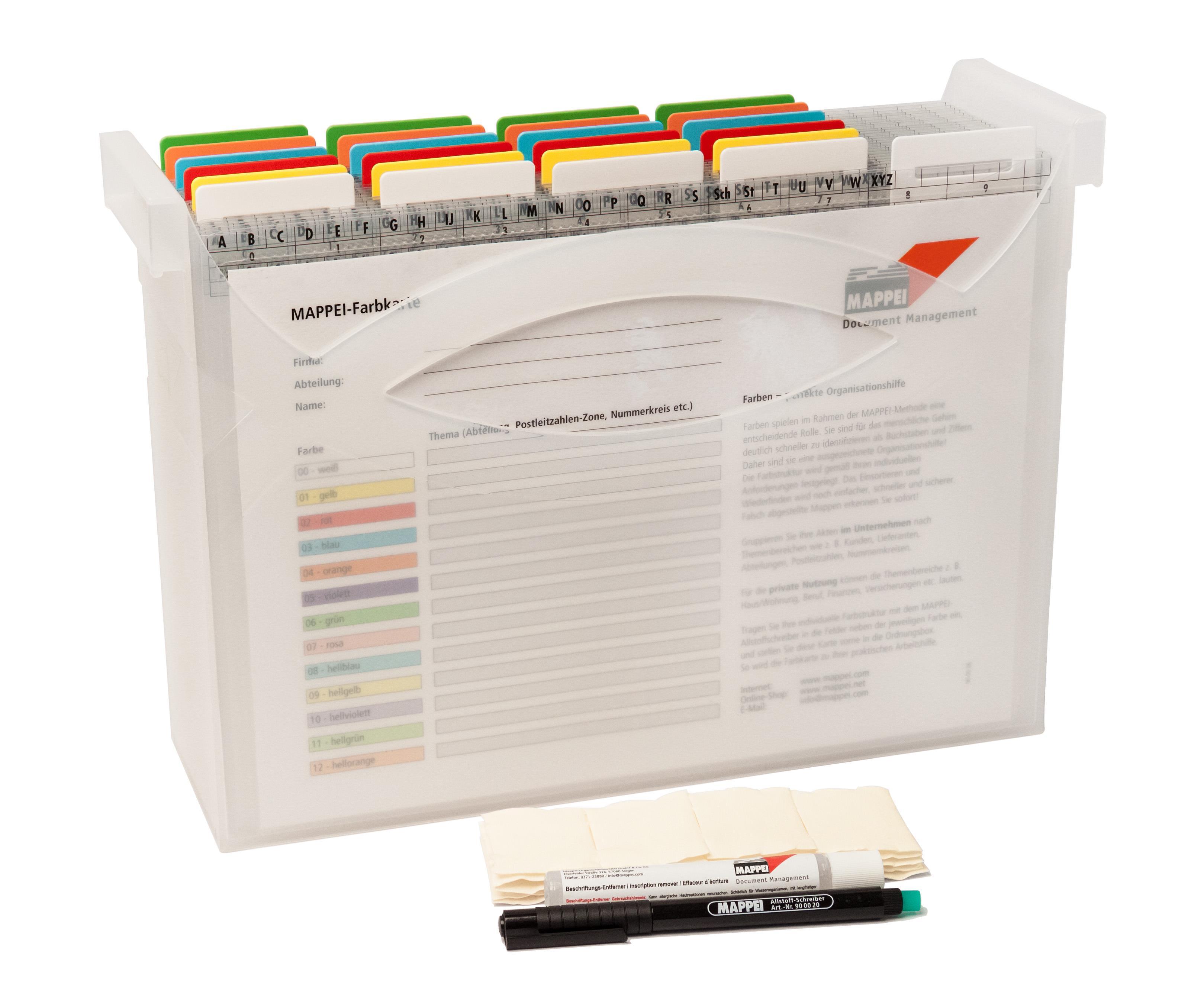 Arbeitsplatz-Organisation, Aufgabenmodul (Box aus Polypr.)