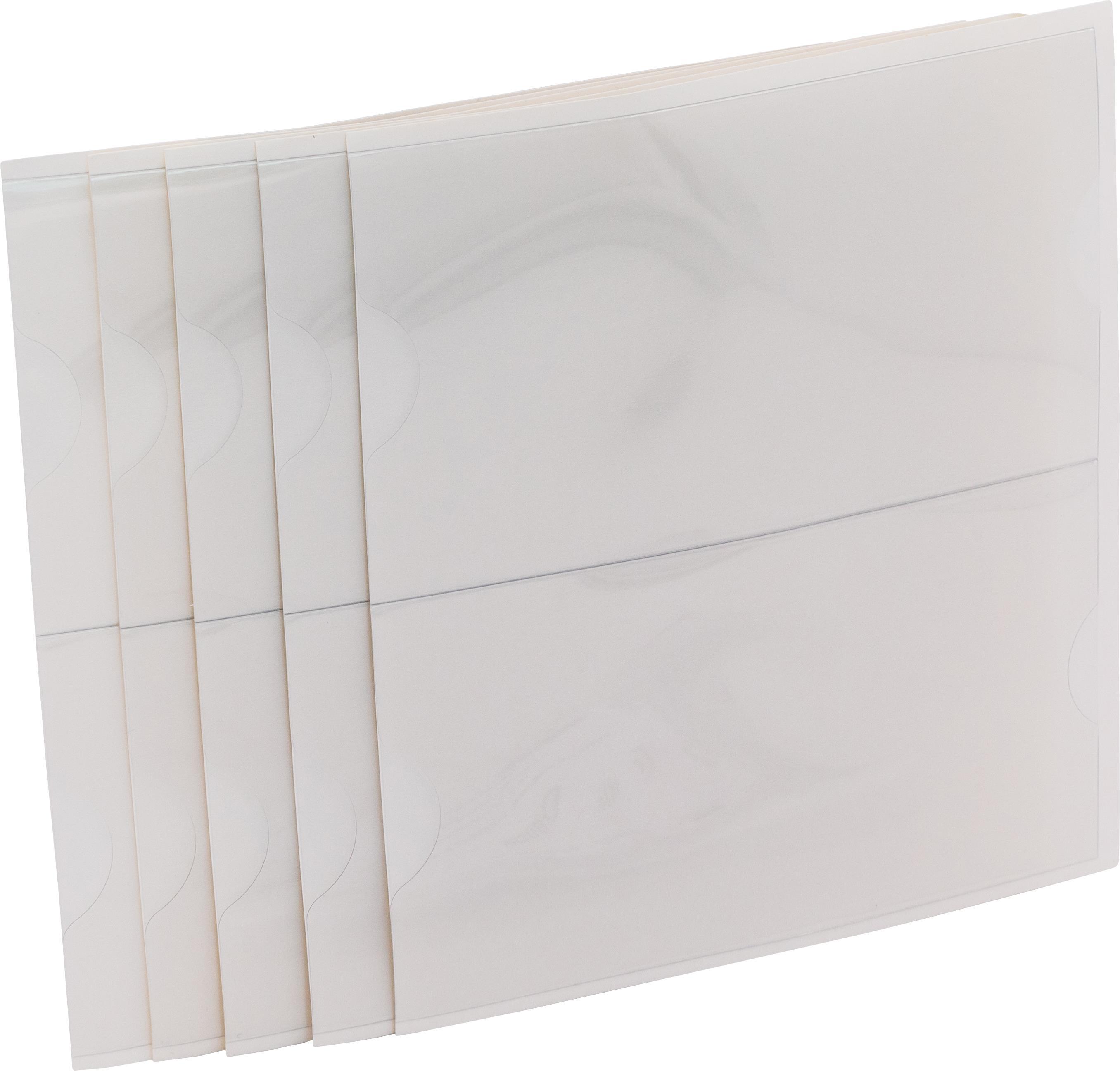 Wechseltasche für Rückenschild 952300, selbstkl., Kunstst.