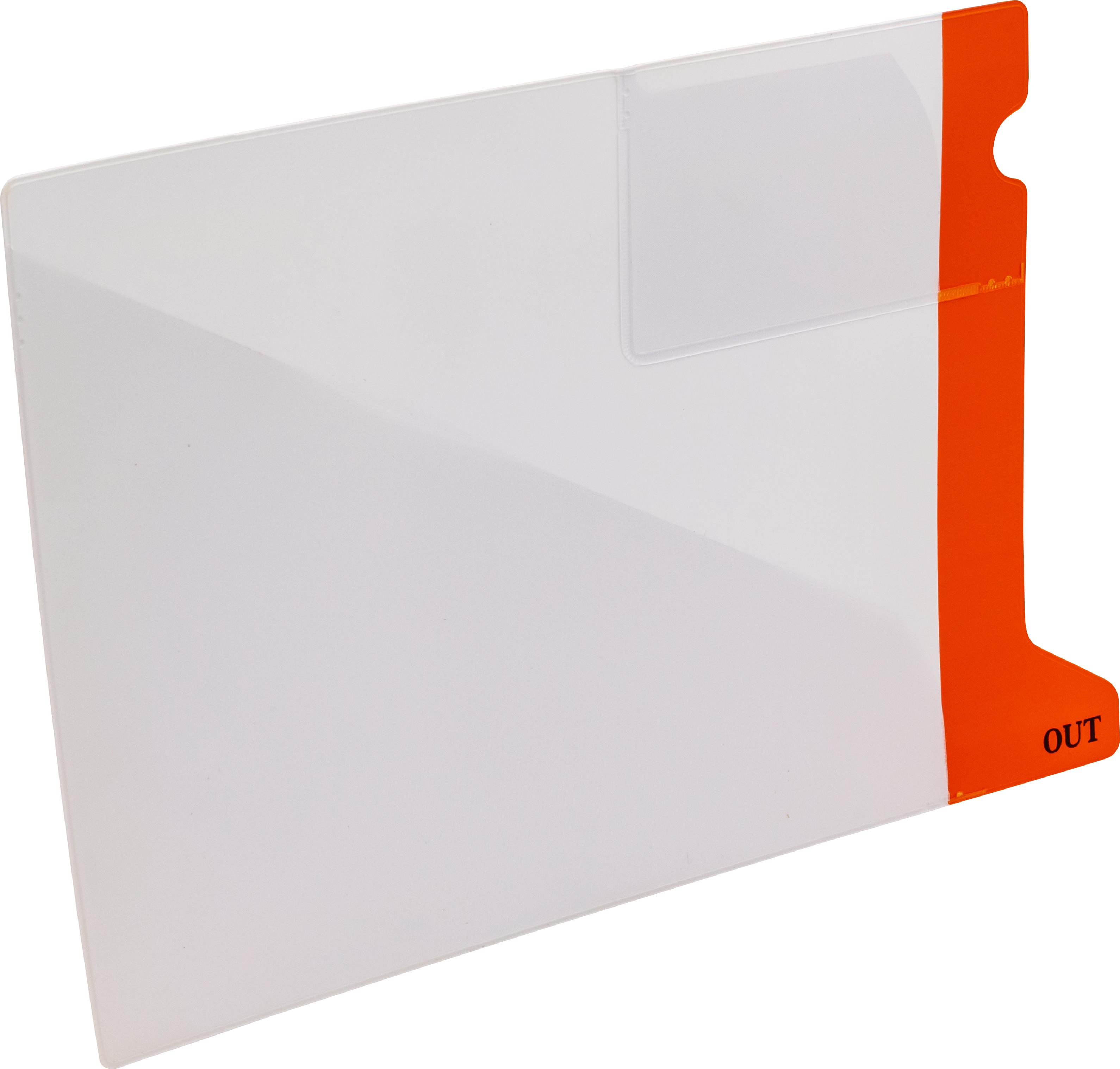 TABCOLOR-OUT-Mappe mit Taschen f. A4 u. A6