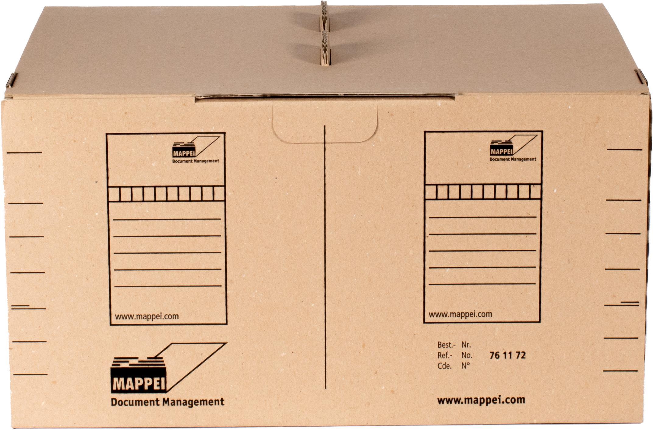 TABCOLOR-Archivbox f. Mappen DIN A4, 450 x 350 x 250 mm